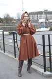 1970s Vintage Inspired Raincoat - the Galway Hooker