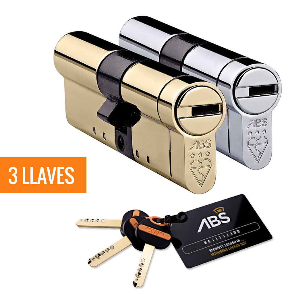 Bombín Avocet ABS® MK3 + 3 llaves - Avocet - Cilindro de alta seguridad - Uplocks