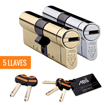 Bombín Avocet ABS® MK3 + 5 llaves - Avocet - Cilindro de alta seguridad - Uplocks