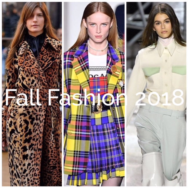 Fall Fashion Trends for 2018 (Part 1)