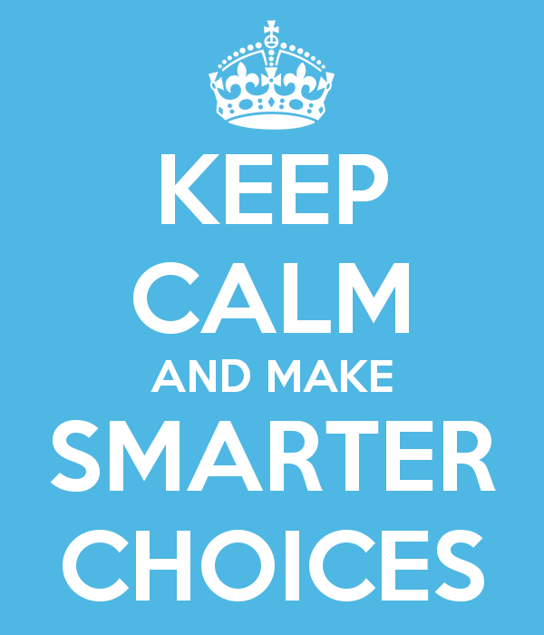 New Year – Smarter Choices!