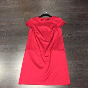 Our day dress is from Theory, Size 0, $158.99