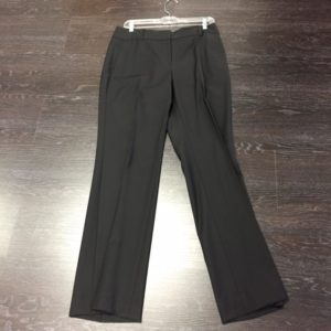 Our black pants are from Ann Taylor, size 8, $26.99