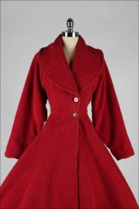 vinage-red-wool-coat
