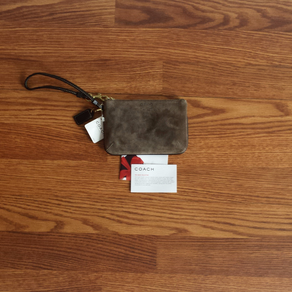 Authentic Coach Wristlet (NWT)