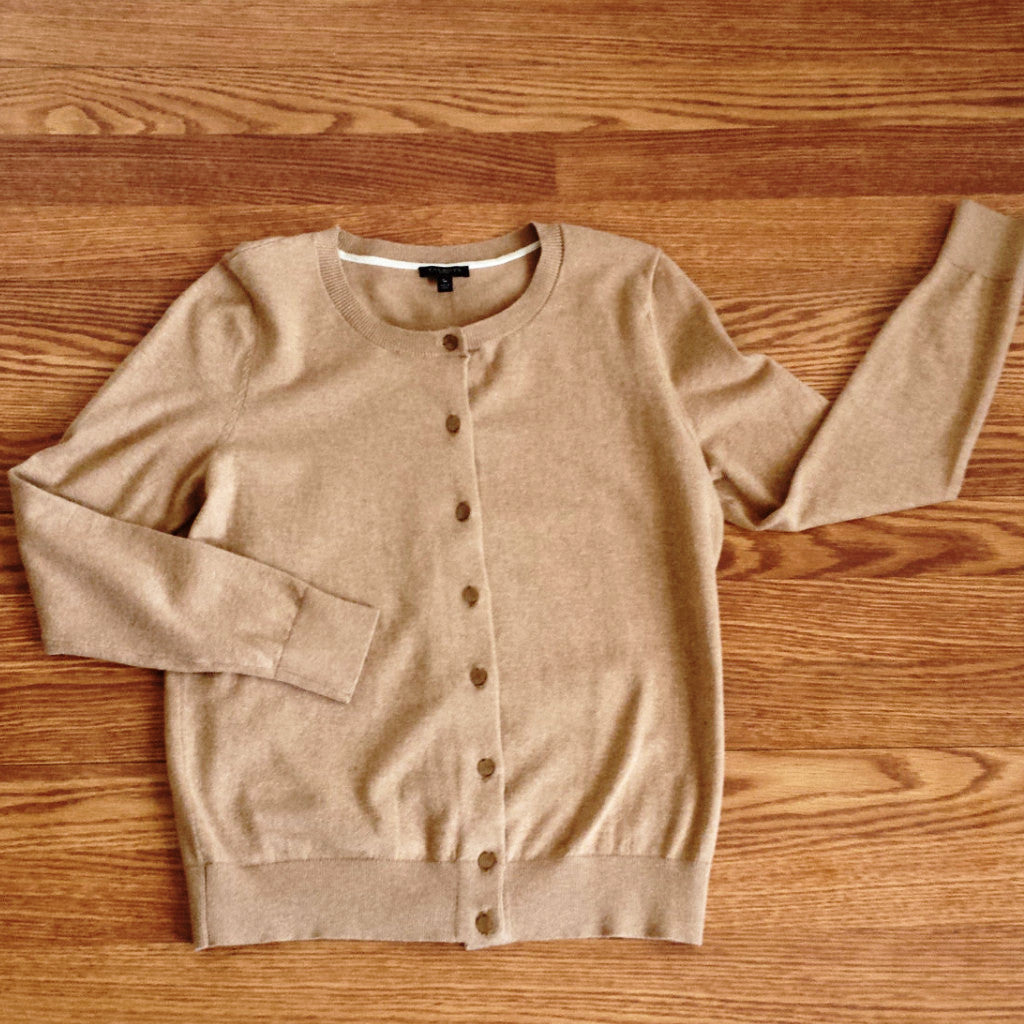 Talbot's Cotton Blend Cardigan