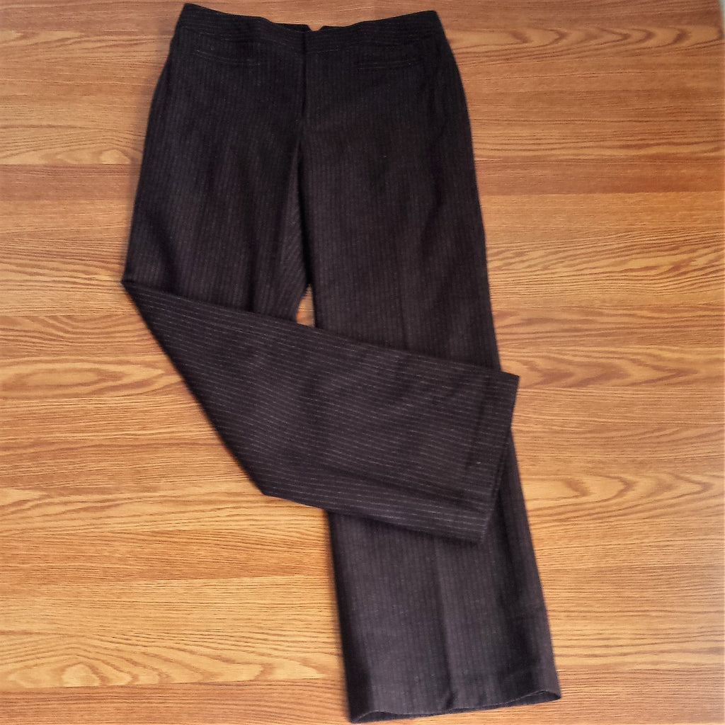 Banana Republic Brown Pinstriped Pants