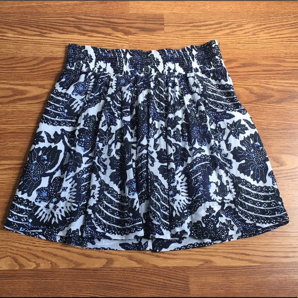 Banana Republic Print Skirt