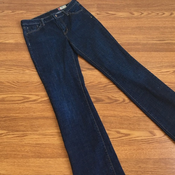 GAP Dark Rinse Classic Fit Jeans - Long
