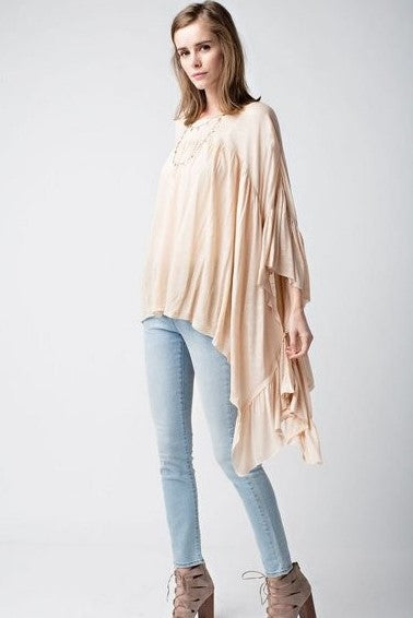 Flowy Dolman Sleeeve Top