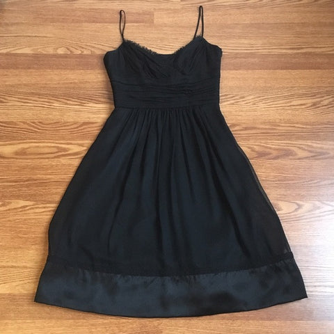 Laundry by Shelli Segal Black Silk Dress