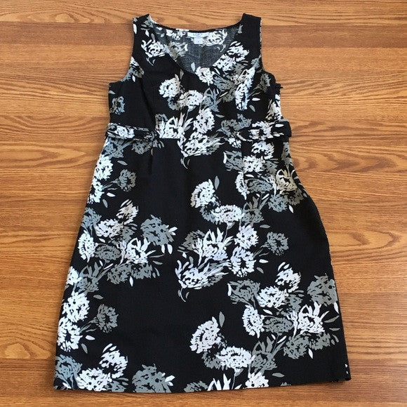 Loft Cotton Floral Dress