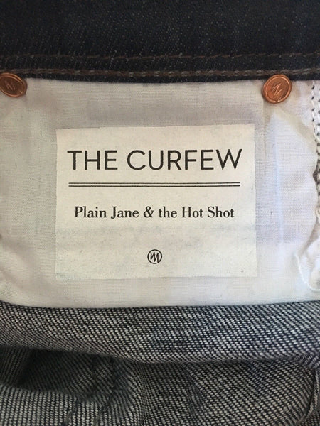 """The Curfew"" Dark Rinse Stretch Flare Jeans"