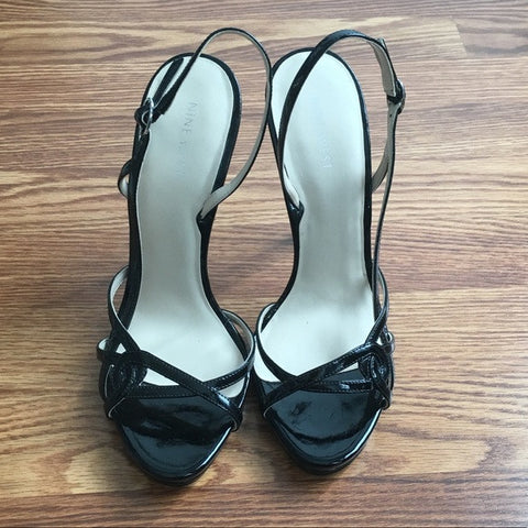 Nine West Strappy High Heels