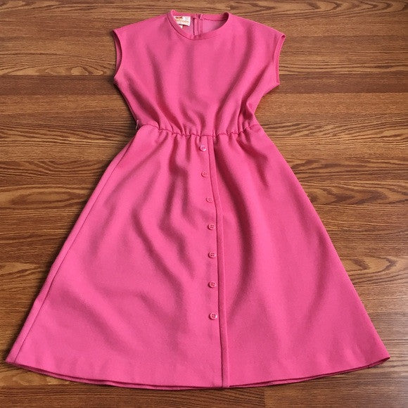 Newton Centre Pink Vintage Dress