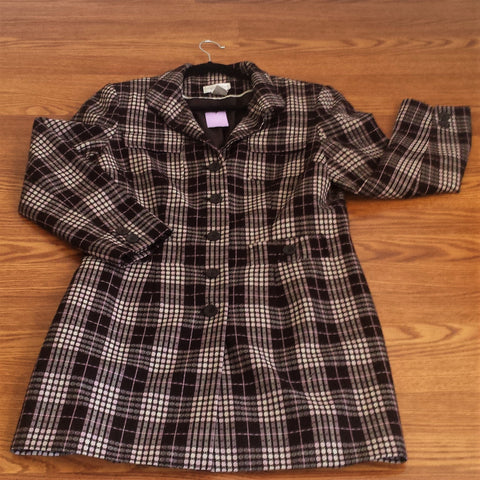 Worthington Plaid Jacket
