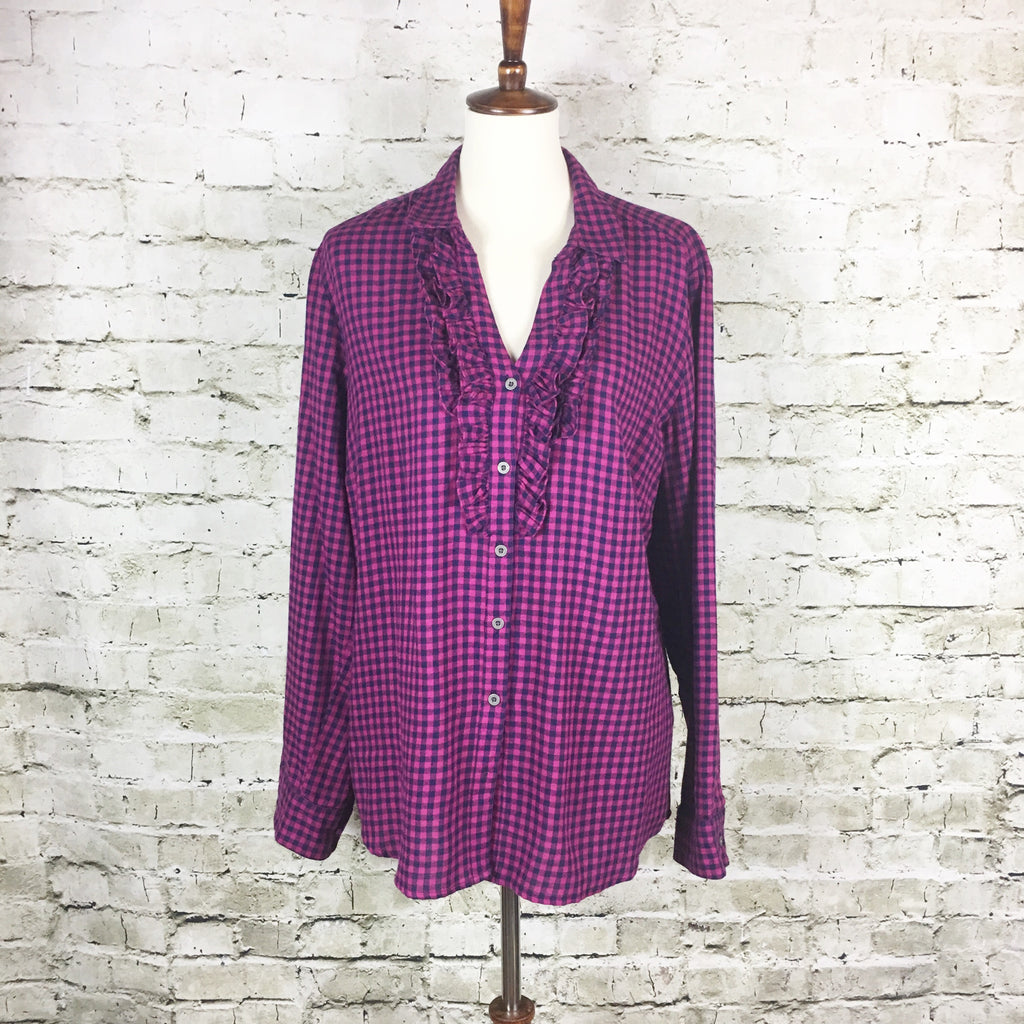 Flannel Check Tunic