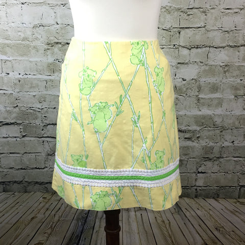 """Climbing the Ladder"" Print Skirt"