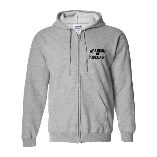 DryBlend Hooded 'Full-Zip' Sweatshirt - GARAGE68, Inc.