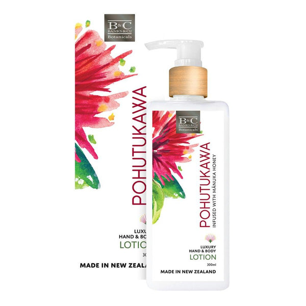 pohutukawa hand and body lotion