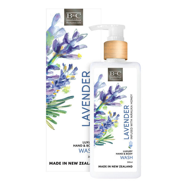 Banks & Co Hand and Body Wash - Lavender