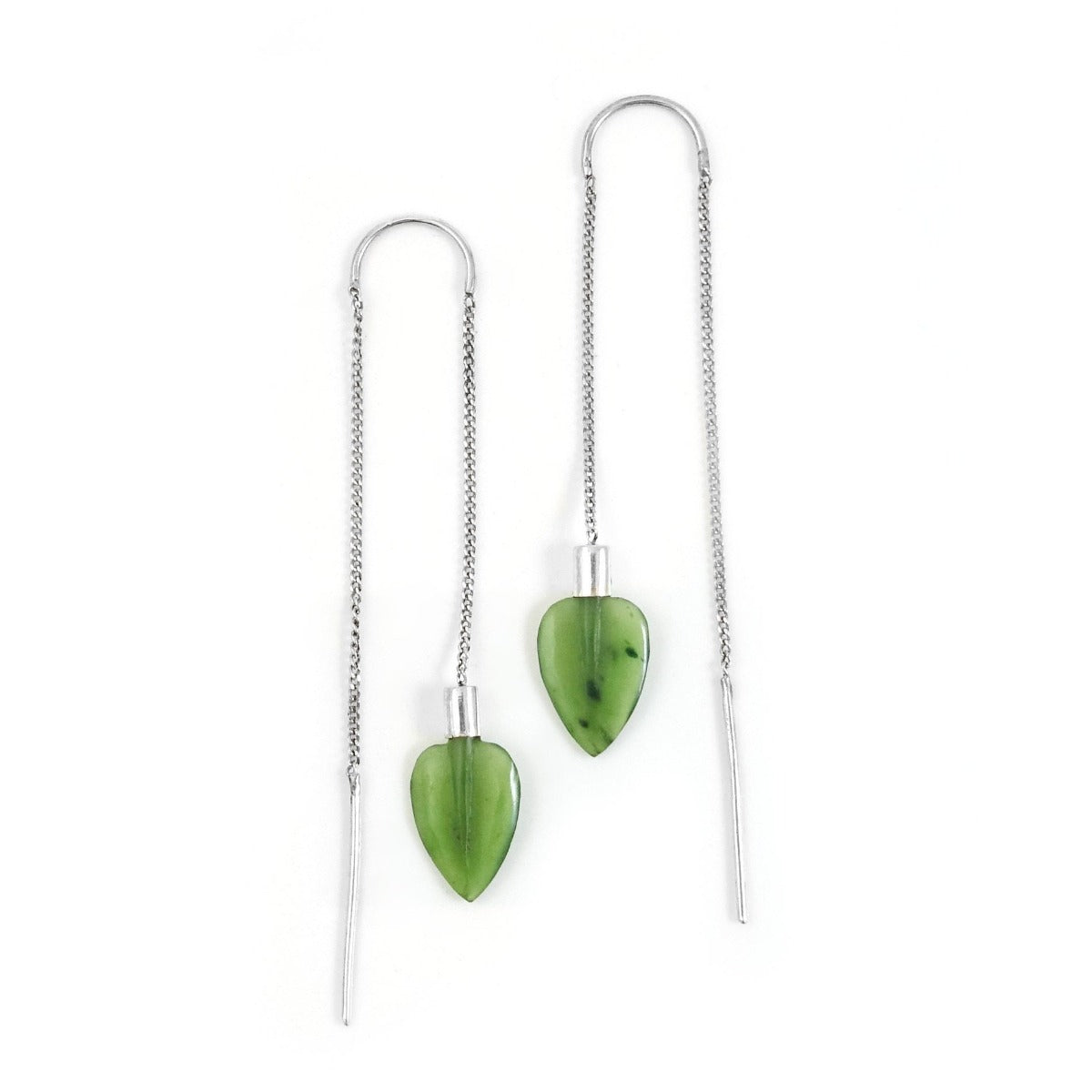 jade kiwi kaikoura gifts earrings pounamu
