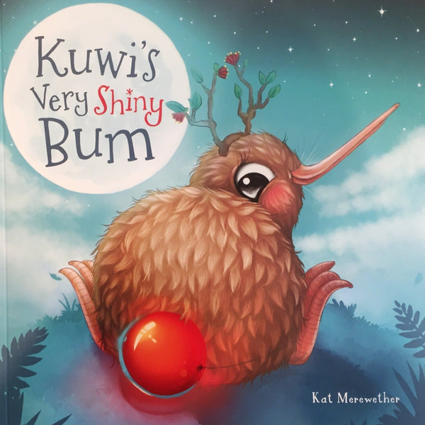 Kuwi's Very Shiny Bum – with free kiwi