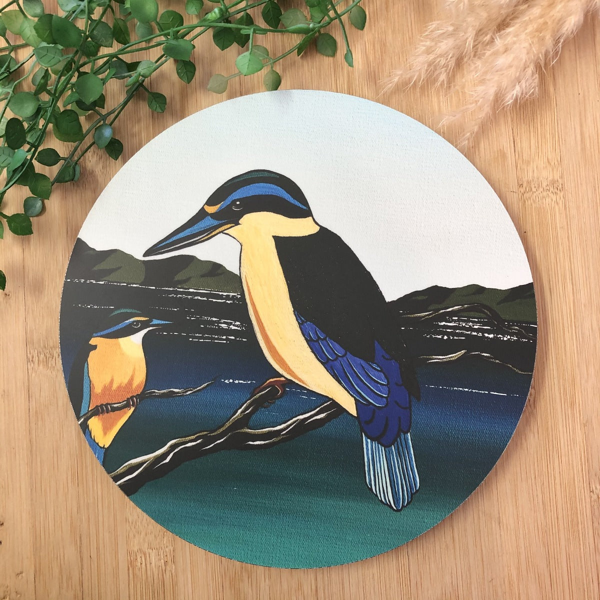 Kingfisher Indoor/ Outdoor Wall Art