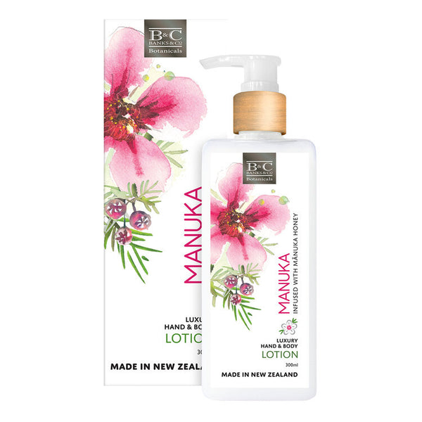 Banks & Co Luxury Hand and Body Lotion - Manuka