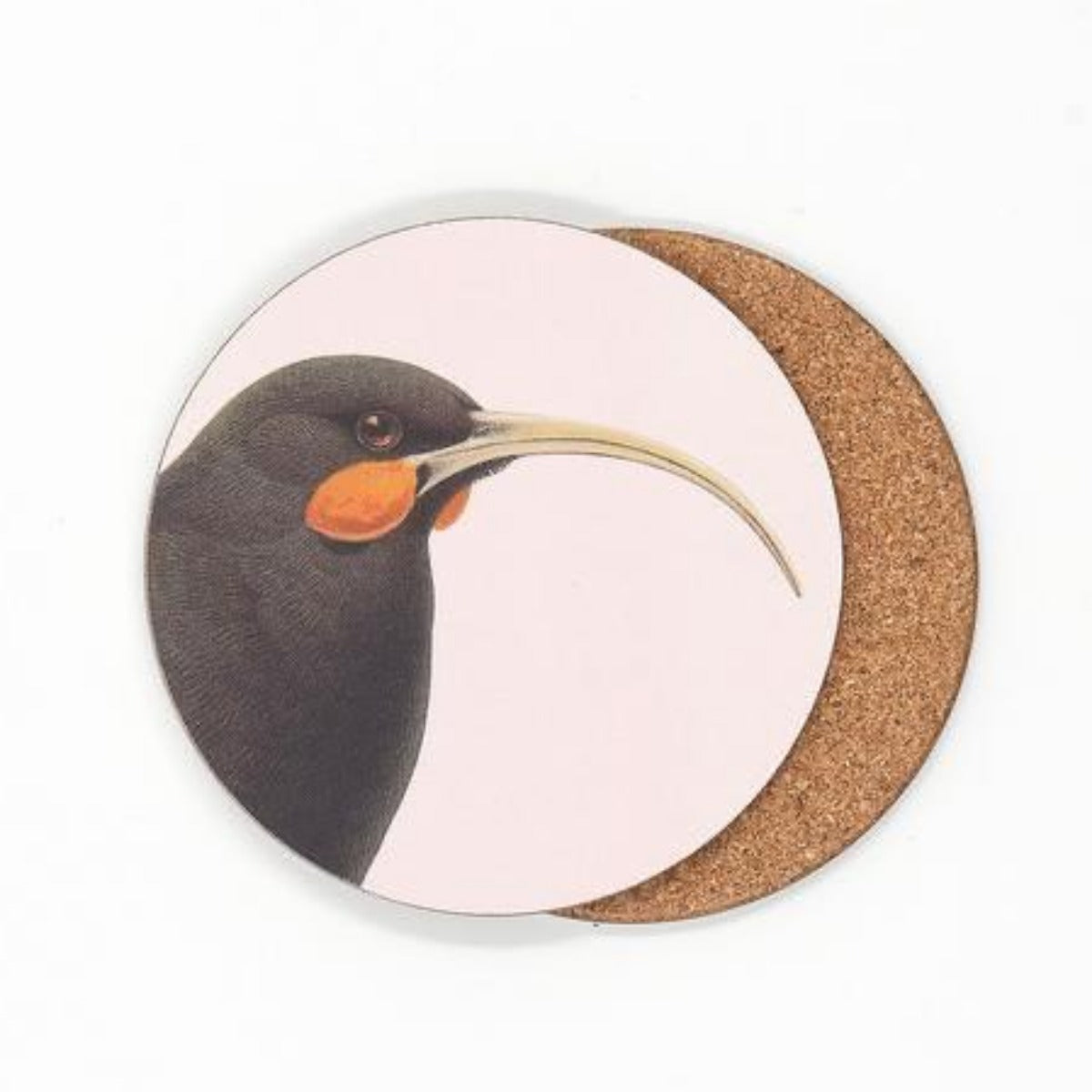 jade kiwi kaikoura gifts native bird coasters huia
