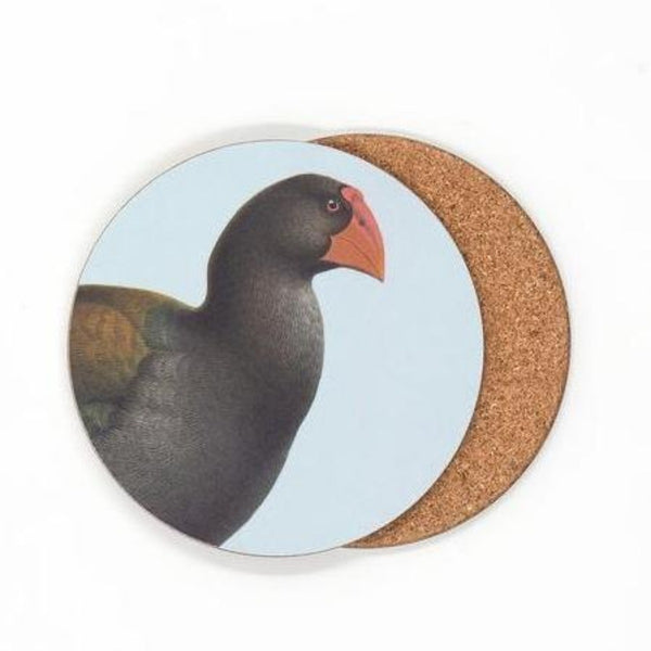 jade kiwi kaikoura gifts native bird coasters takahe