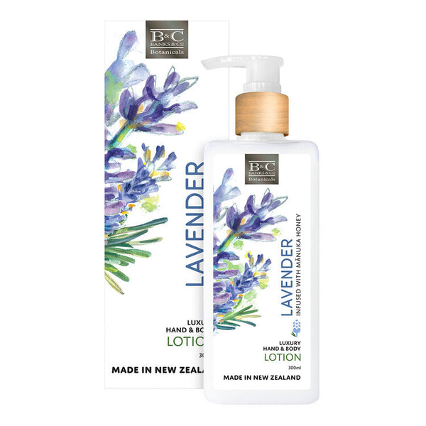 Banks & Co Luxury Hand and Body Lotion - Lavender