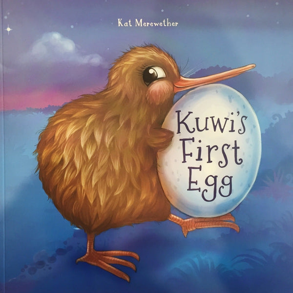 Kuwi's First Egg – with free kiwi toy