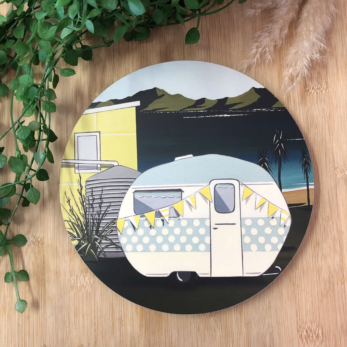 Kiwi Summer - Caravan Indoor/ Outdoor Wall Art