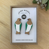 JHD Rimu Kereru Earrings