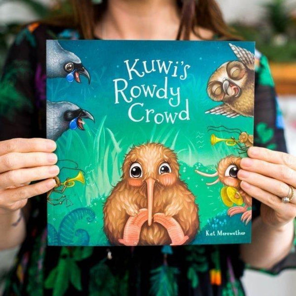 Kuwi Kiwi ROudy crowd book