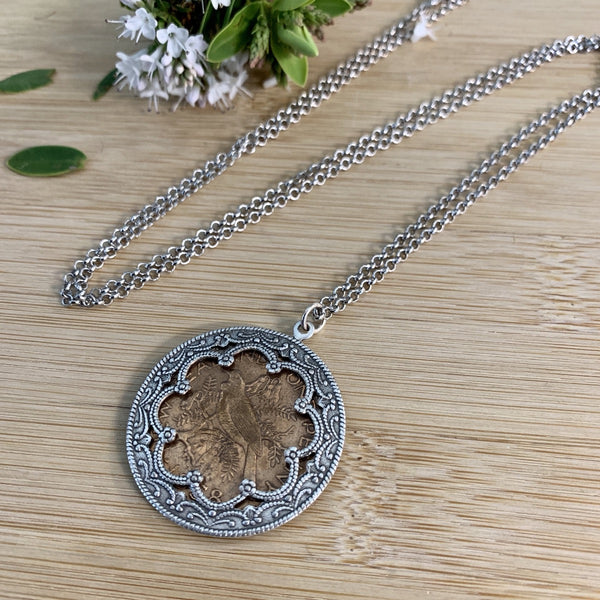 One Penny Pendant Necklace