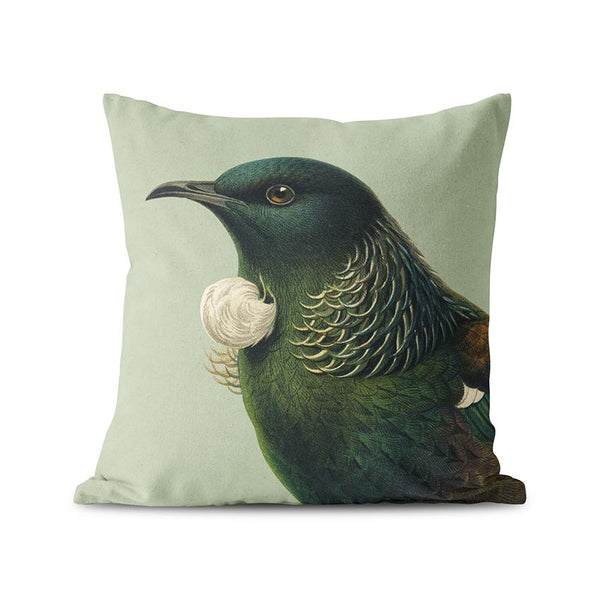 Native Bird Cushions Covers - Tui