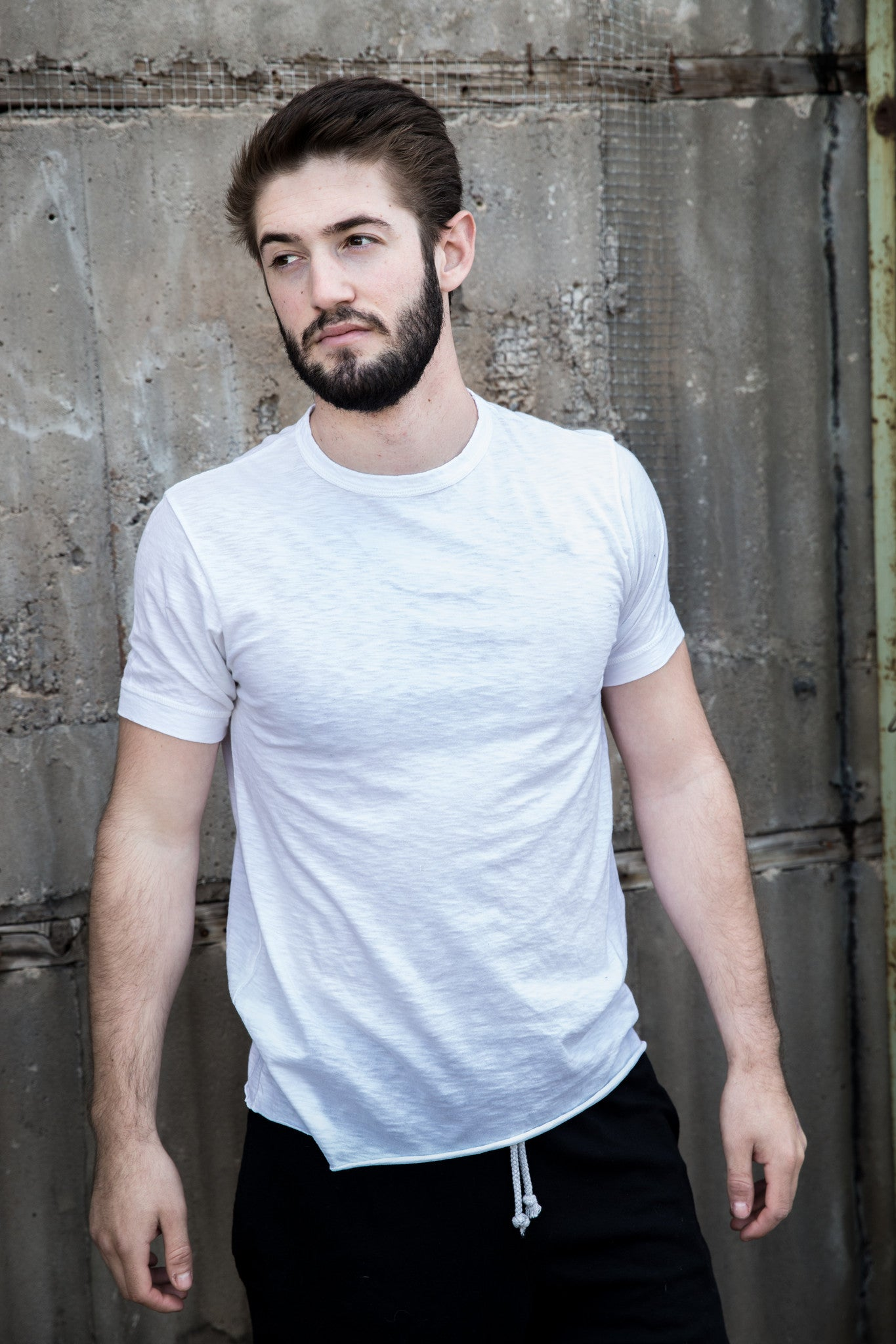 Cotton Slub Short Sleeve Tee