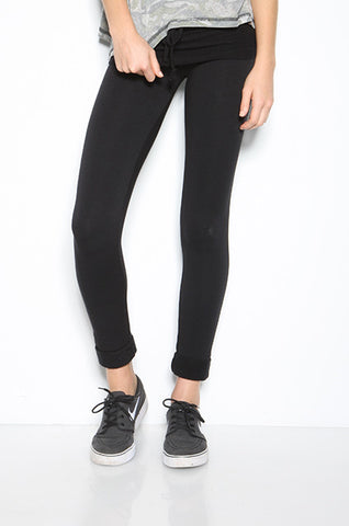 Fleece Cuffed Rollover Pant