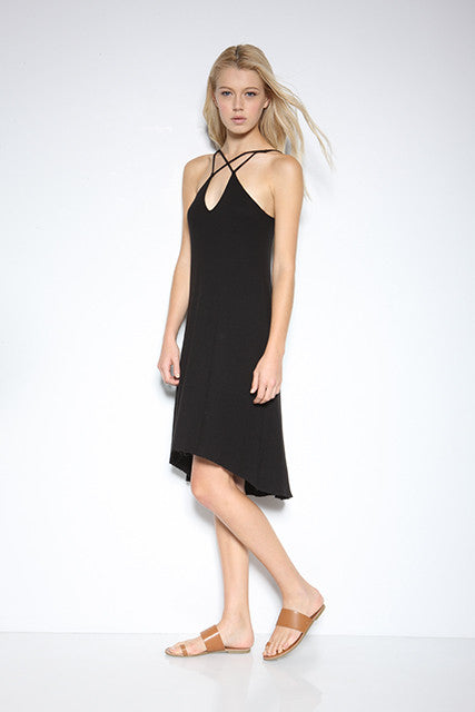 Baby Thermal Criss Cross Slip Dress