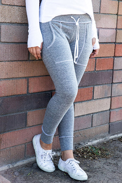 Recycled Jersey Slim Sweatpant