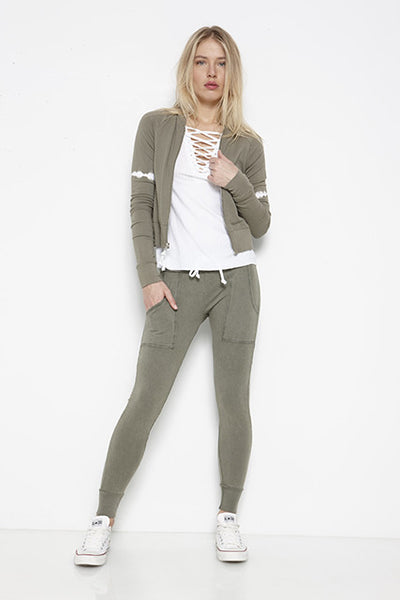 Fleece Slim Sweatpant