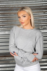 Modal Thermal Thumbhole Sweatshirt