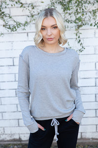 Cotton Modal Thermal Lined Sweatshirt