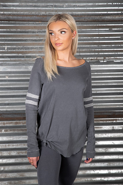 Surplus Thermal Varsity Side Knot Tunic