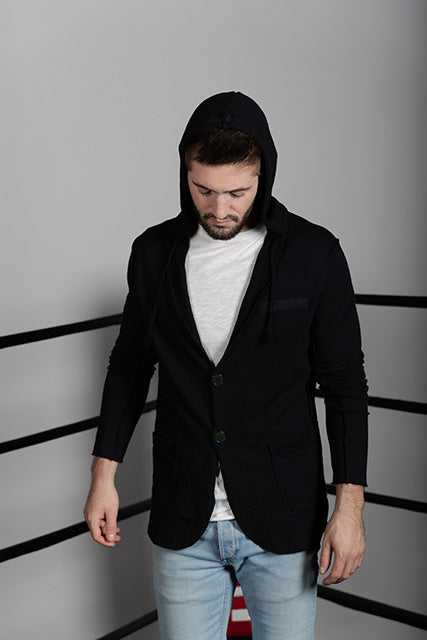 French Terry Blazer with Thermal Hood