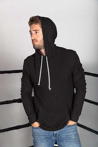 Brushed Hacci Hooded Sweatshirt
