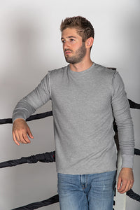 Double Layer Modal Thermal Reverse Seam Sweatshirt