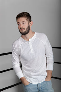Cotton Slub Henley
